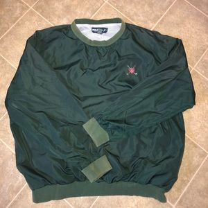 Vtg polo golf pullover windbreaker
